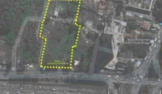 Kavling Pingggir Jalan di Tb Simatupang Jakarta Selatan