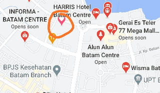 Kavling 2,5 HA 600 meter dari Ferry Batam Center Batam Kep Riau