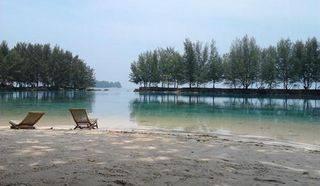 Beautiful Kotok Island Located in Kepulauan Seribu Perfect for Resort