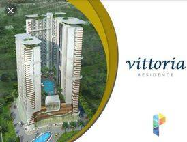 Vittoria Apartemen Residence 1BR 33m2 700juta Siap huni Daan Mogot Jakarta Barat