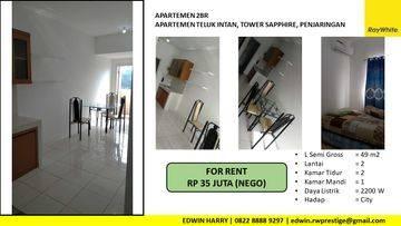 Apartemen Teluk Intan 2BR Full Furnished City View