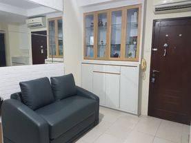 2 Kamar Full Furnished Interior, Lantai Rendah