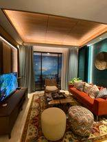 Apt Ekslusif 2 bedrooms dgn berbagai fasilitas mewah, sdh semi furnished, bagus, dp bisa dicicil, harga terbaik di Alam Sutera