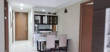 Condominium Apartemen Taman Anggrek Residences 2 bedroom full furnished bagus siap huni di jakarta barat