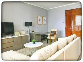 For Rent District 8 Apartment For Rent 3+1BR Full Furnish Mid Floor City View