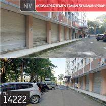 (Kios) Apartemen Taman Semanan Indah, Jakarta Barat, 3x5m, Lt 1, SHM