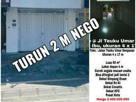 Toko di Jalan Utama Teuku umar