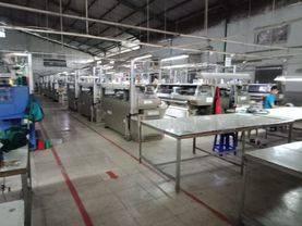 Pabrik Rajut sedang Beroperasi dan Mesin Sudah Tersistem Komputerisasi cocok untuk bisnis peluang investasi