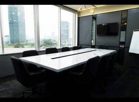 Office Space di Menara Sudirman. Luas 350 m2, Lantai Rendah
