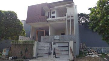Rumah baru minimalis di cluster Permata Buana ...