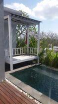 Villa cantik area jimbaran dengan view pelabuhan benoa