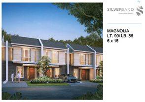 rumah murah 2 lantai citraland tallasa city cluster baru silversand