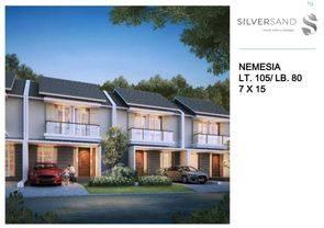 Rumah Nemesia murah dan minimalis di citraland Tassala city cluster terbaru silversand dekat dengan RS.  wahidin dan kampus Unhas