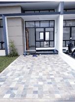 Rumah modern cantik kokoh strategis asrie hijaudaun