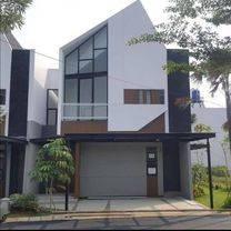 perumahan modern clasic 2lantai didalam komplek besar dekat MRT lebak bulus, bebas banjir dan strategis