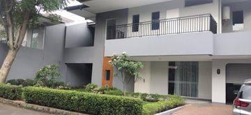 Rumah Compound di Cipete, Jakarta Selatan ~ Taman ~ Pool