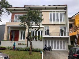 Rumah Modern Split Level Kawasan The Green BSD (BRAND NEW BANGUNAN BARU)