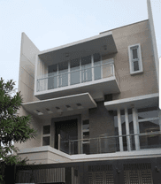Rumah brand new desain modern minimalis