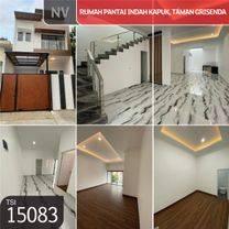 Rumah Pantai Indah Kapuk,  Taman Grisenda, Jakarta Utara, 6x18, 2 Lt, SHM