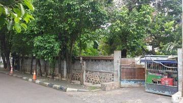Rumah lama hitung tanah Jalan Brawijaya, Kebayoran Baru