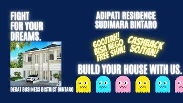 Harga launching termurah, rumah 2 lantai 600 jutaan nego!