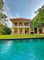 Bangka Kemang Rumah Bergaya Kolonial Mewah n Klasik Sangat Langka Kondisi Terawat Termurah