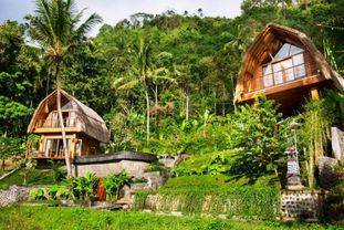 Freehold Villa which is located on the outskirts of a small Balinese Village