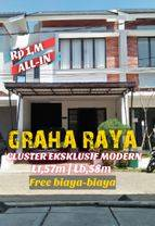 New CLUSTER DP,5%  ALL-IN Free BIAYA-BIAYA LOKASI STRATEGIS AKSES SANGAT MUDAH & BEBAS BANJIR