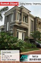 Rumah Gading Serpong - CLuster Karelia Hoek - Tangerang