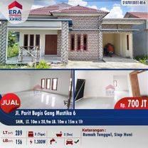 Rumah Tunggal Jalan Parit Bugis Gang Mustika 6,Kubu Raya