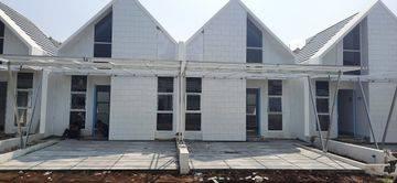 Rumah murah vila bogor indah 6 dekat tol BORR dan stasiun cilebut