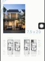 Rumah di Precium Kebayaron Baru Jakarta Selatan