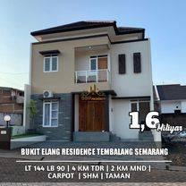 Rumah siap huni 2 Lantai di bukit Elang Residence Tembalang