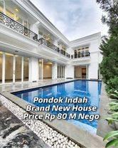 For Sale Pondok Indah Luxurious White Modern Classic House brand new