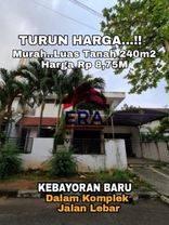 HOUSE FOR SALE KEBAYORAN BARU JAKARTA SELATAN DALAM KOMPLEK ONE GATE SYSTEM