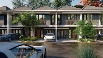 Rumah Baru 2 Lantai Di buaran Serpong 600  jutaan