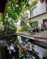 rumah modern tropical di townhouse pondok pinang veteran bintaro