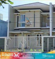 Rumah Baru konsep Minimalis lokasi Araya 1 Surabaya