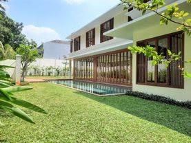 Brand New Modern House with Big Garden in Kebayoran Baru, Best Location