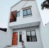 Dijual rumah siap huni, bangunan 2 lantai dalam komplek di Larangan, Tangerang Kota