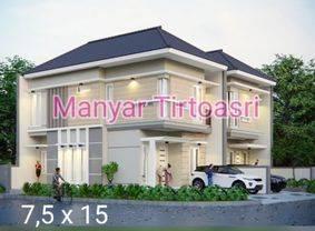 Rumah Baru Dijual Manyar Tirtosari Surabaya ER