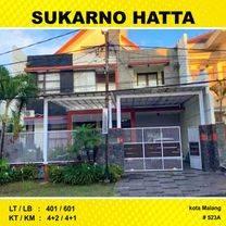 Rumah 2,5 Lantai Luas 401 di Bunga Dewandaru Sukarno Hatta Malang _ 523AW