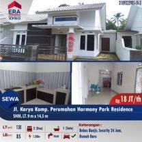 Rumah Siap Huni Karya . Harmony Park Res, Kubu Raya
