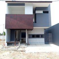 Rumah Modern Tropis Di Tangerang Selatan