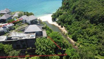 Tanah Di Balangan Ocean View - Bonus bangunan villa mangkrak 80% dalam kawasan Komplex villa