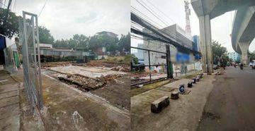 Tanah Area Komersil Lokasi Strategis Jl Wolter Monginsidi Kebayoran Baru Jakarta Selatan