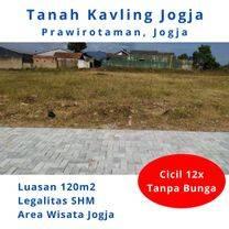 Tanah Dekat Stasiun Tugu Jogja, Akses Jalan Lebar. Bisa Cicil 12 Bulan