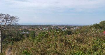 Tanah dijual view laut pantai Balangan bali