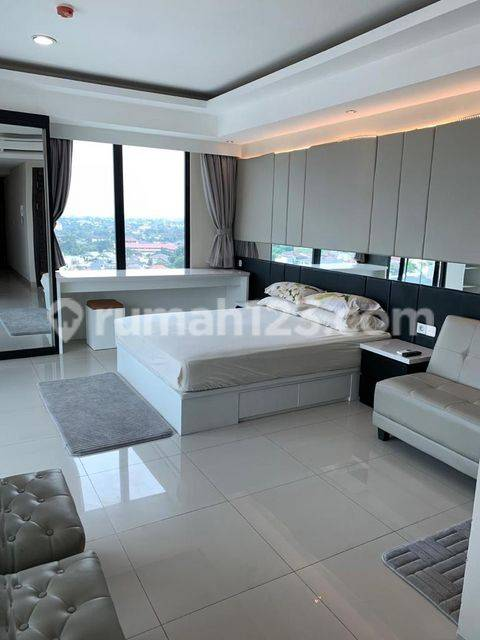 Nine Residence, Tower A 1BR Lantai 11 | Fully Furnished