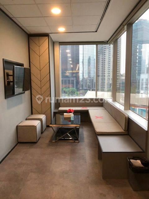 Office Menara Sudirman, Fully furnished, lokasi strategis,scbd